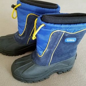 Totes Blue Boots (Youth Size 2)